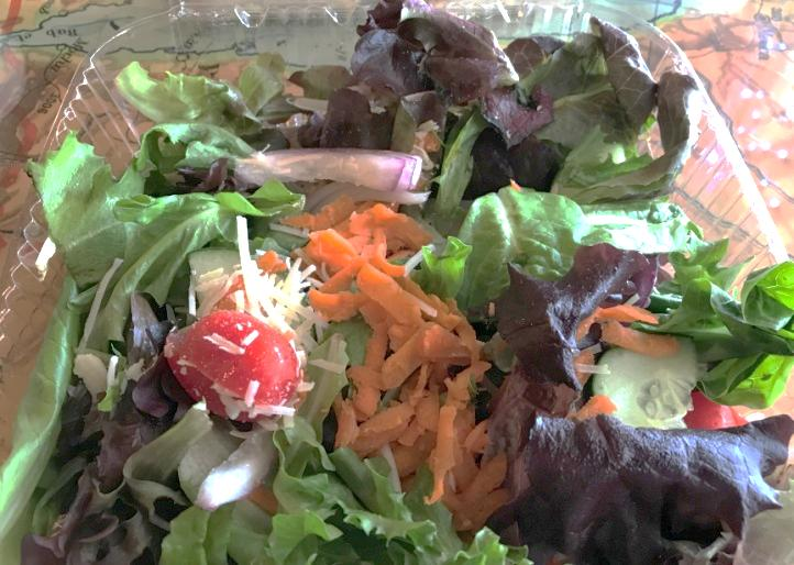 House Salad.  Come with Choice of  Dressing and Toppings are Available